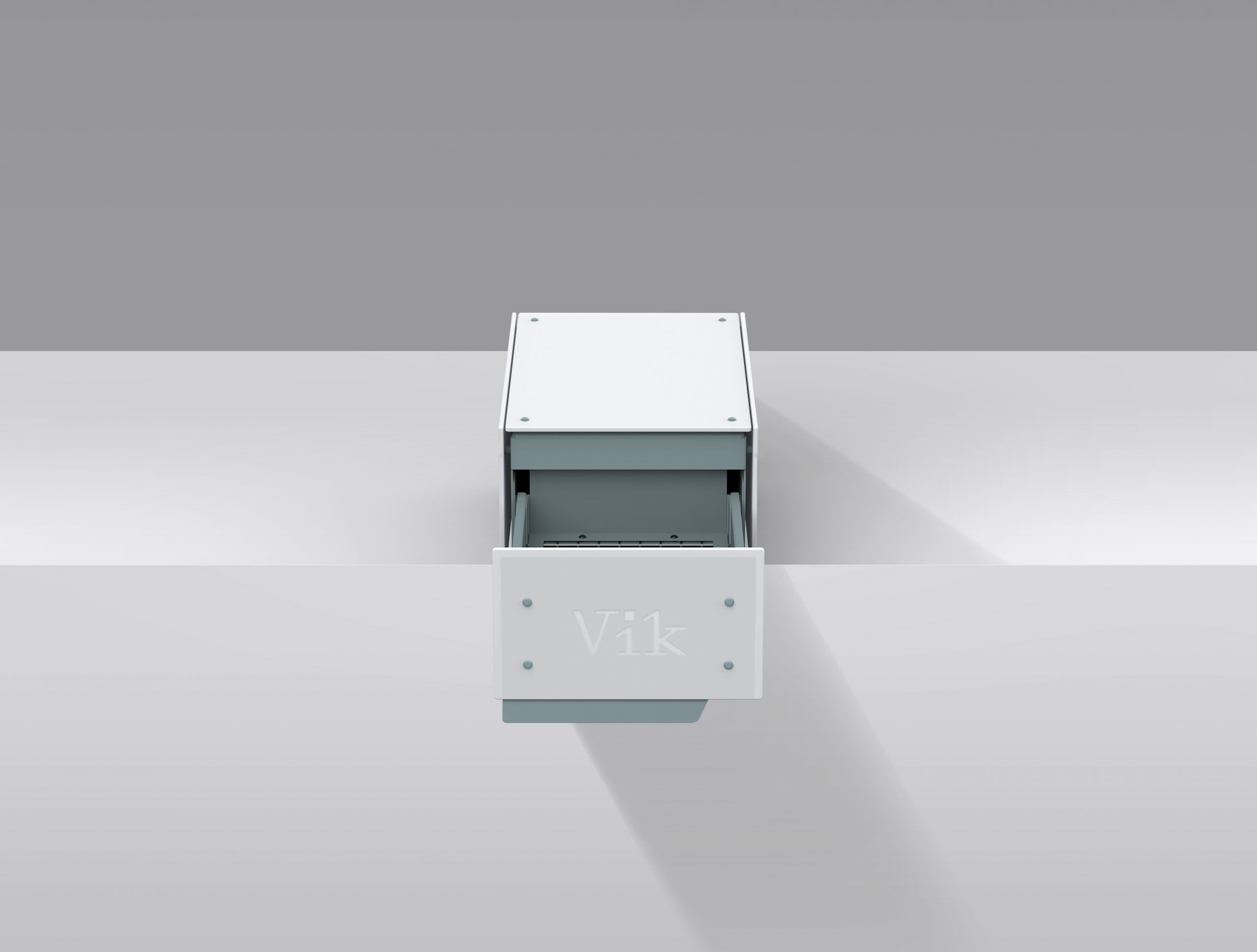 Vik Model k uv-c desinfectiekast open