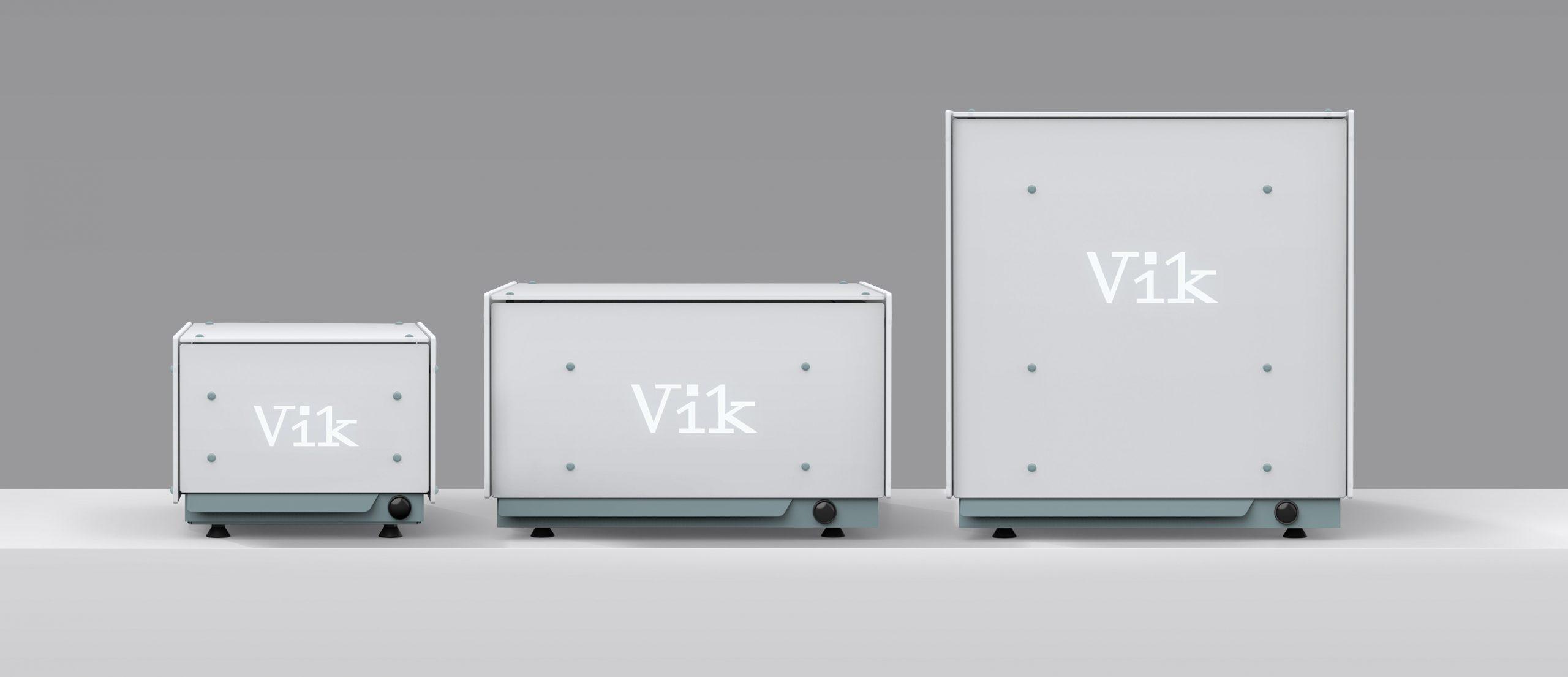 Vik Modellen V i k uv-c desinfectiekast - Ervaar de kracht van uv-c desinfectie met Vik
