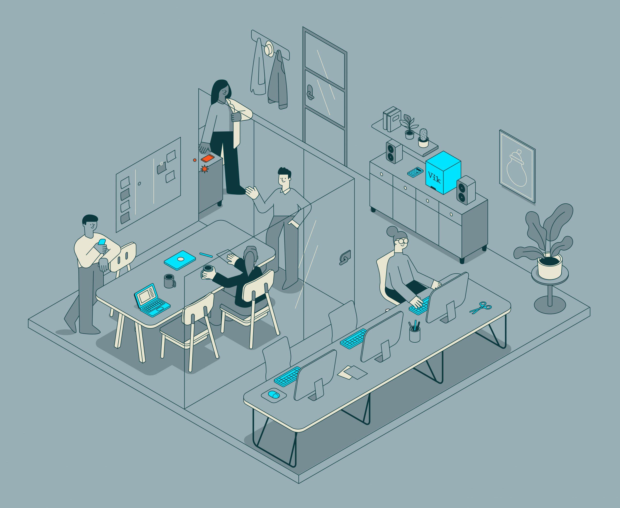 Vik uv-c desinfectie Hoe zorg je voor een corona-proof kantoor?